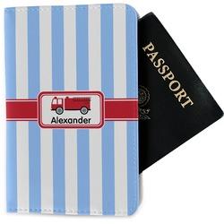 Firetruck Passport Holder - Fabric (Personalized)