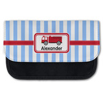 Firetruck Canvas Pencil Case w/ Name or Text