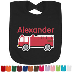 Firetruck Bib - Select Color (Personalized)