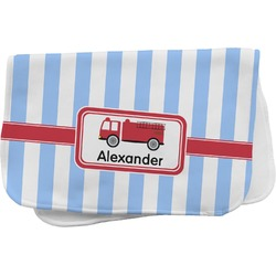 Firetruck Burp Cloth (Personalized)