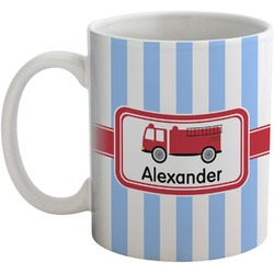 Firetruck Coffee Mug (Personalized)