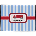 Firetruck Door Mat (Personalized)