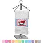 Firetruck Finger Tip Towel (Personalized)