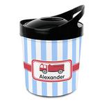 Firetruck Plastic Ice Bucket (Personalized)