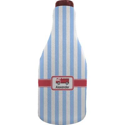 Firetruck Wine Sleeve (Personalized)