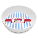Firetruck Melamine Bowl 8oz (Personalized)