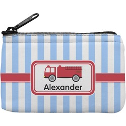 Firetruck Rectangular Coin Purse (Personalized)