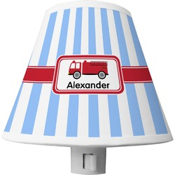 Firetruck Shade Night Light (Personalized)