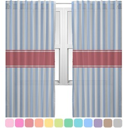 Firetruck Sheer Curtains (Personalized)