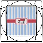 Firetruck Square Trivet (Personalized)