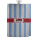 Firetruck Stainless Steel Flask (Personalized)