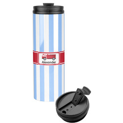 Firetruck Stainless Steel Skinny Tumbler (Personalized)