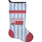 Firetruck Christmas Stocking - Neoprene (Personalized)