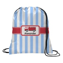 Firetruck Drawstring Backpack (Personalized)