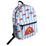 Firetruck Student Backpack (Personalized)
