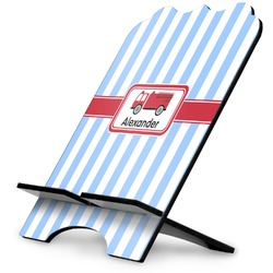 Firetruck Stylized Tablet Stand (Personalized)