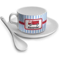 Firetruck Tea Cup - Single (Personalized)