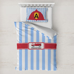 Firetruck Toddler Bedding w/ Name or Text