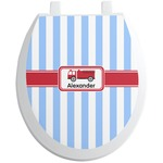 Firetruck Toilet Seat Decal (Personalized)