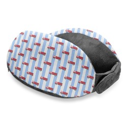 Firetruck Travel Neck Pillow (Personalized)