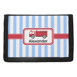 Firetruck Trifold Wallet (Personalized)