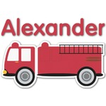 Firetruck Graphic Decal - Custom Sizes (Personalized)