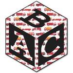 Firetruck Monogram Decal - Custom Sized (Personalized)