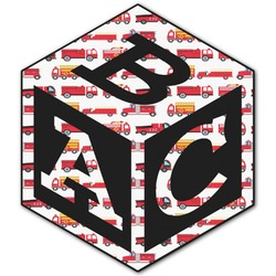 Firetruck Monogram Decal - Custom Sized (Personalized)