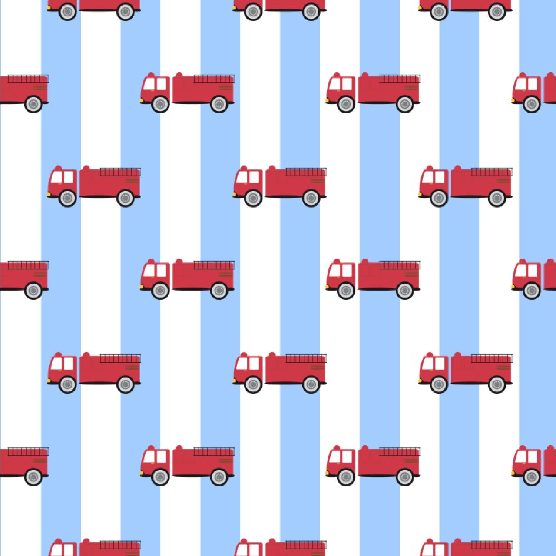 Firetruck Wallpaper Surface Covering