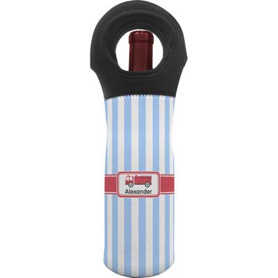 Firetruck Wine Tote Bag (Personalized)