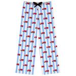 Firetruck Womens Pajama Pants (Personalized)