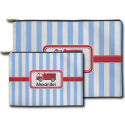 Firetruck Zipper Pouch (Personalized)