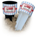 Firetruck Beach Spiker Drink Holder (Personalized)