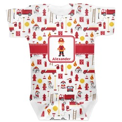 Firefighter for Kids Baby Bodysuit (Personalized)