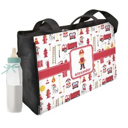 Firefighter Diaper Bag (Personalized)