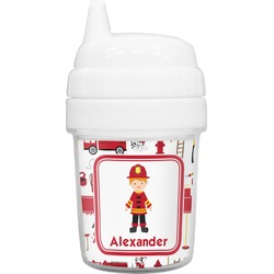 Firefighter for Kids Baby Sippy Cup (Personalized)