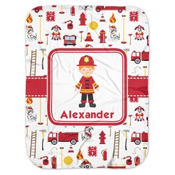 Firefighter for Kids Baby Swaddling Blanket (Personalized)
