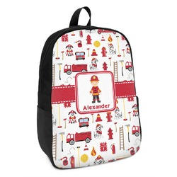 Firefighter for Kids Kids Backpack (Personalized)