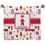 Firefighter for Kids Full Print Bath Towel (Personalized)