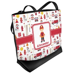 Firefighter for Kids Beach Tote Bag (Personalized)