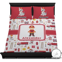 Firefighter for Kids Duvet Cover Set (Personalized)