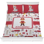 Firefighter for Kids Comforters (Personalized)