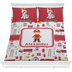 Firefighter for Kids Comforter Set (Personalized)