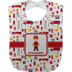 Firefighter for Kids Baby Bib (Personalized)