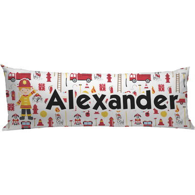 Firefighter Character Body Pillow Case (Personalized)