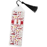 Firefighter Book Mark w/Tassel (Personalized)