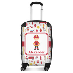 Firefighter Character Suitcase (Personalized)