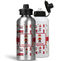 Firefighter Character Water Bottles- Aluminum (Personalized)