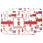 Firefighter Character Dish Drying Mat w/ Name or Text