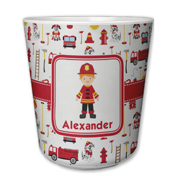 Firefighter Character Plastic Tumbler 6oz (Personalized)